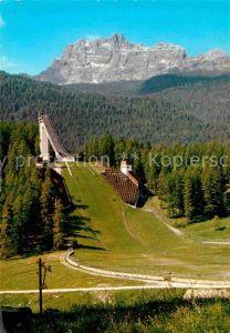 AK / Ansichtskarte Cortina d Ampezzo Olympische Sprungschanze Kat. Cortina d Ampezzo