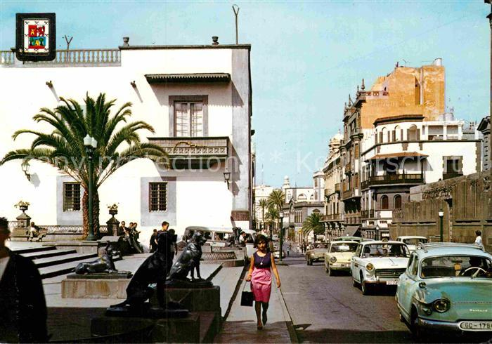 AK / Ansichtskarte Las Palmas Gran Canaria Plaza de Santa Ana Kat. Las Palmas Gran Canaria