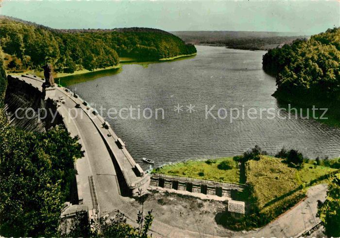 AK / Ansichtskarte La Gileppe Le barrage Vue generale Kat.