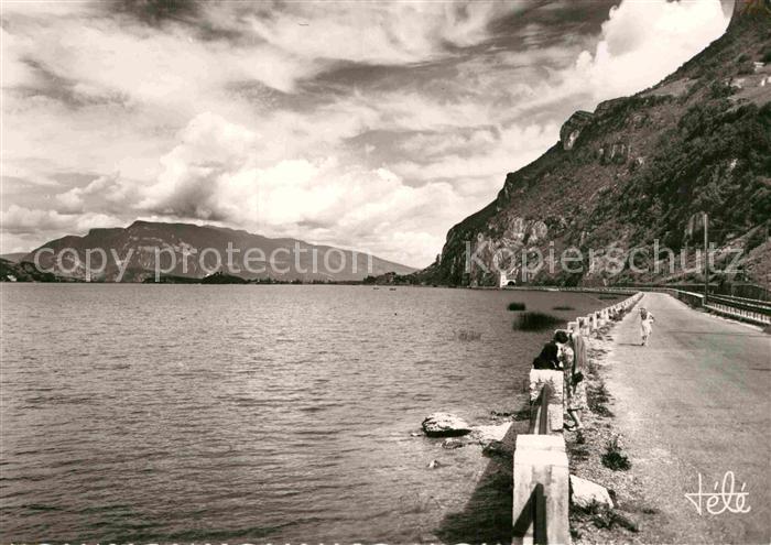 AK / Ansichtskarte Bourget du Lac Savoie Le Route d`Aix les Bains a Chindreiux Kat. Le Bourget du Lac