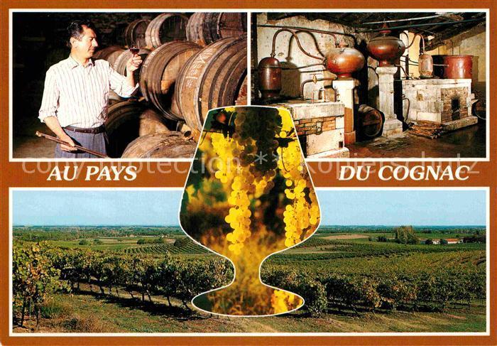 AK / Ansichtskarte Cognac Maitre de chai det distillerie de Cognac Kat. Cognac