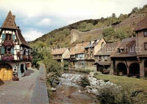 AK / Ansichtskarte Kayersberg Vieilles maisons au bord de la Weiss Kat. Ribeauville