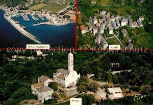 AK / Ansichtskarte Macinaggio Fliegeraufnahme Luri Pino Kat. Cap Corse