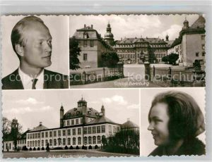 AK / Ansichtskarte Berleburg Bad Schloss Berleburg Schloss Fredensborg Prinzessin und Prinz Sayn Wittgenstein Kat. Bad Berleburg