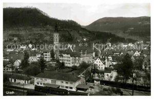 AK / Ansichtskarte Urach Bad Bahnhof Kat. Bad Urach