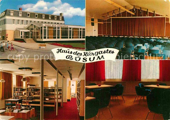 AK / Ansichtskarte Buesum Nordseebad Haus des Kurgastes Kat. Buesum