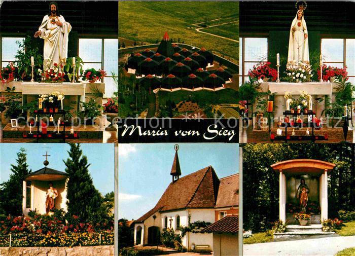 AK / Ansichtskarte Wigratzbad Herz Jesu und Maria Stiftskirche Kat. Opfenbach