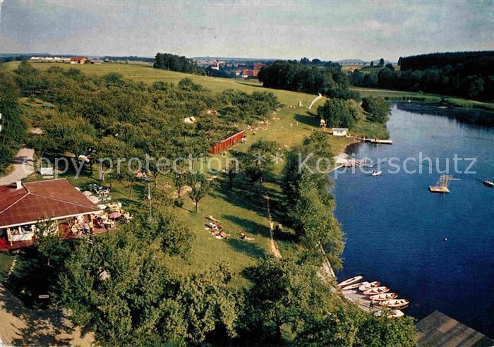AK / Ansichtskarte Buxheim Memmingen Camping am See Kat. Buxheim