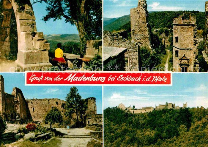 AK / Ansichtskarte Madenburg bei Eschbach Burgruine Kat. Eschbach