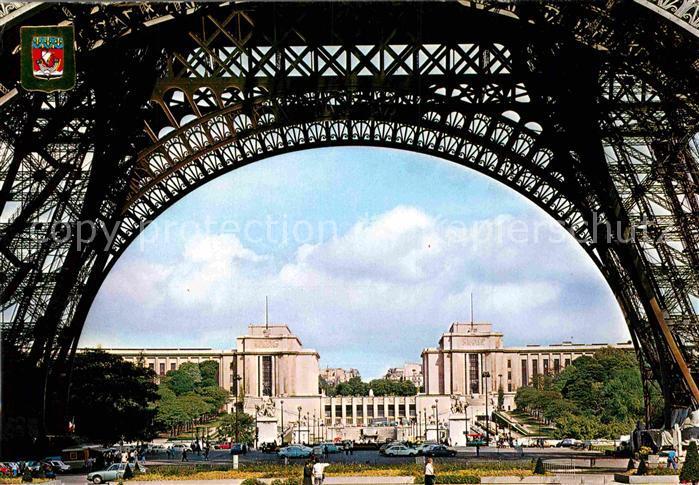 AK / Ansichtskarte Paris Champ de mars Palais du chaillot Kat. Paris