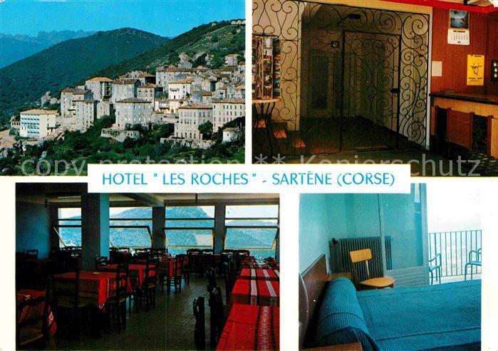 AK / Ansichtskarte Sartene Hotel Les Roches Kat. Sartene