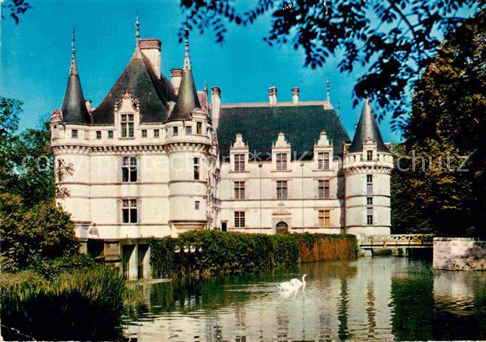 AK / Ansichtskarte Azay le Rideau Indre et Loire Kat. Azay le Rideau ...