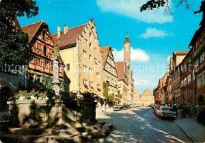 AK / Ansichtskarte Rothenburg Tauber Herrengasse Kat. Rothenburg ob der Tauber