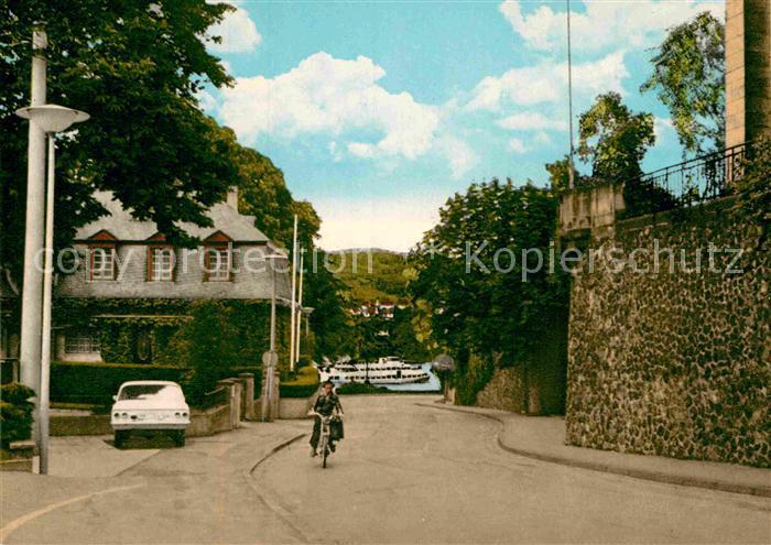 AK / Ansichtskarte Remagen Deichgasse mit Blick auf den Rhein Stadtmauer Kat. Remagen