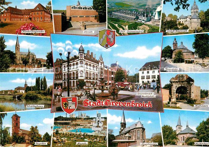 AK / Ansichtskarte Grevenbroich und Umgebung Sehenswuerdigkeiten Kat. Grevenbroich