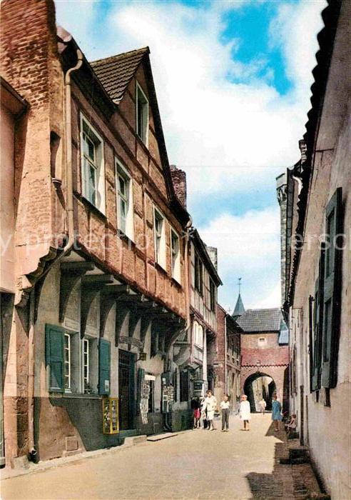 AK / Ansichtskarte Zons Rheinstrasse Altstadt Kat. Dormagen