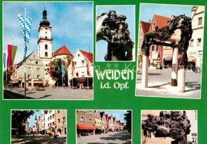 AK / Ansichtskarte Weiden Oberpfalz Teilansichten Max Reger Stadt Kat. Weiden i.d.OPf.