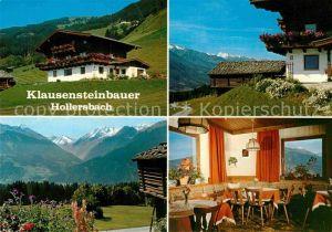 AK / Ansichtskarte Hollersbach Pinzgau Klausensteinhof Kat. Hollersbach im Pinzgau