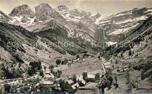 AK / Ansichtskarte Gavarnie Hautes Pyrenees Le Cirque et le Village Kat. Gavarnie