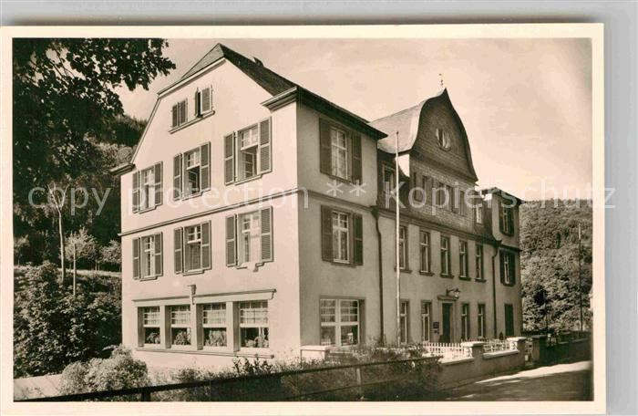AK / Ansichtskarte Bertrich Bad Haus Rheinland Kat. Bad Bertrich