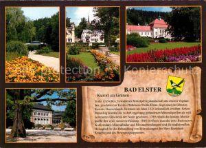 AK / Ansichtskarte Bad Elster Badecafe Rosengarten Badehaus Kurhaus Kat. Bad Elster