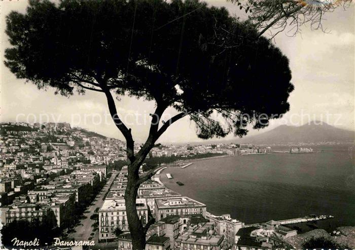 AK / Ansichtskarte Napoli Neapel Panorama Kat. Napoli