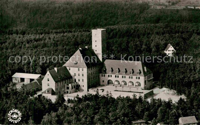 AK / Ansichtskarte Ebermannstadt Burg Feuerstein Fliegeraufnahme Kat. Ebermannstadt