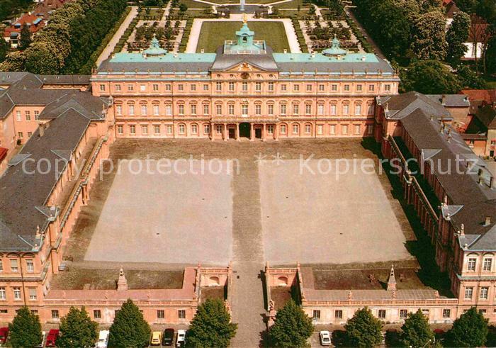 AK / Ansichtskarte Rastatt Fliegeraufnahme Schloss Kat. Rastatt
