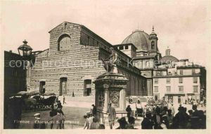 AK / Ansichtskarte Firenze Toscana Chiesa di San Lorenzo Monumento Kat. Firenze