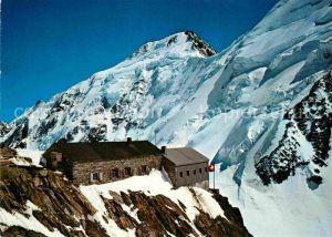 AK / Ansichtskarte Aletschhorn Hollandia Huette Kat. Aletschhorn