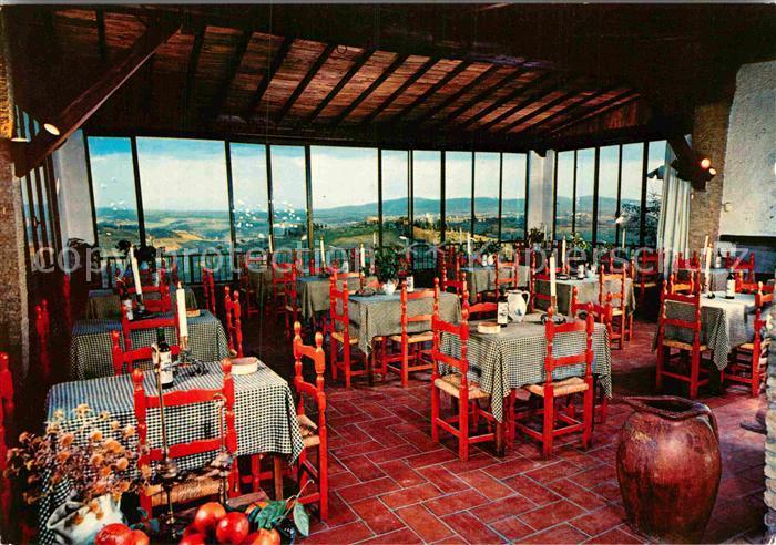 AK / Ansichtskarte San Gimignano Hotel Bel Soggiorno