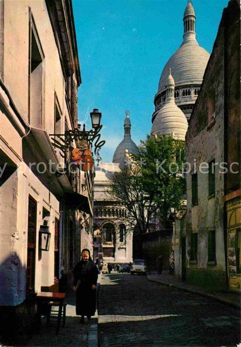 AK / Ansichtskarte Paris Basilique du Sacre Coeur de Montmartre Kat. Paris