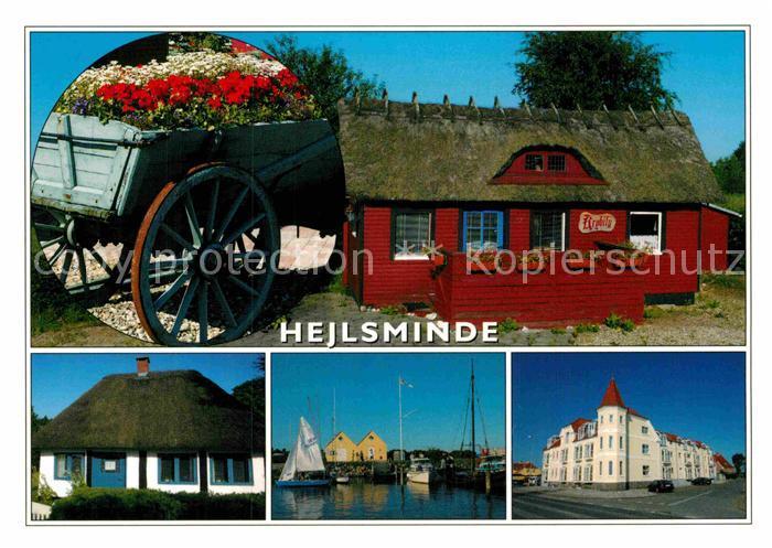 ak ansichtskarte hejlsminde alte holzhaeuser nr kc17192 oldthing ansichtskarten europa. Black Bedroom Furniture Sets. Home Design Ideas
