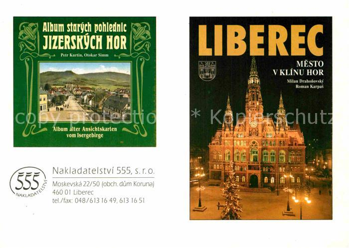 AK / Ansichtskarte Liberec Das Album alter Ansichtskarten Kat. Liberec