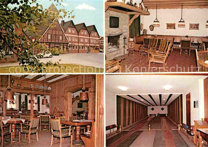 AK / Ansichtskarte Havixbeck Gasthof und Hotel Kemper Kat. Havixbeck
