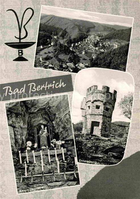 AK / Ansichtskarte Bad Bertrich Entersburg Antoniusgrotte  Kat. Bad Bertrich