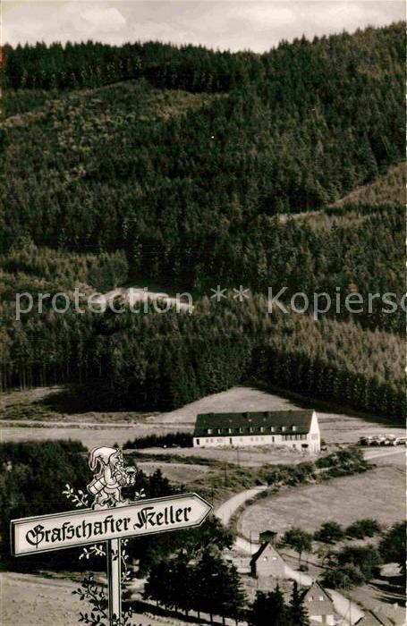 AK / Ansichtskarte Grafschaft Sauerland Grafschafter Keller Gasthof Kat. Schmallenberg