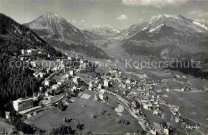 AK / Ansichtskarte Leysin Alpenpanorama Fliegeraufnahme Kat. Leysin