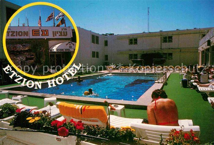 AK / Ansichtskarte Eilat Etzion Hotel Pool Kat. Eilat