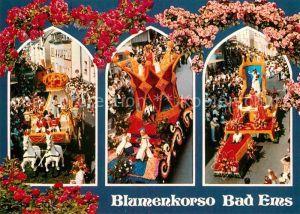 AK / Ansichtskarte Bad Ems Blumenkorso Kat. Bad Ems