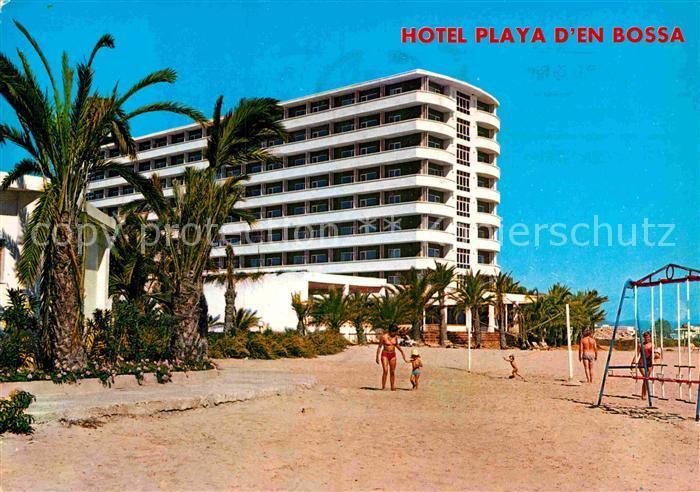 Ibiza Karte Playa D En Bossa.Ak Ansichtskarte Ibiza Islas Baleares Hotel Playa D En Bossa Kat Ibiza