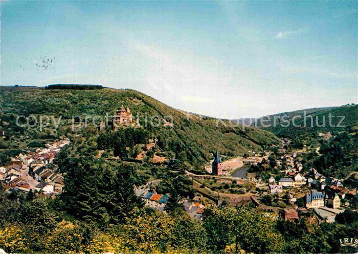 AK / Ansichtskarte Vianden Vue panoramique