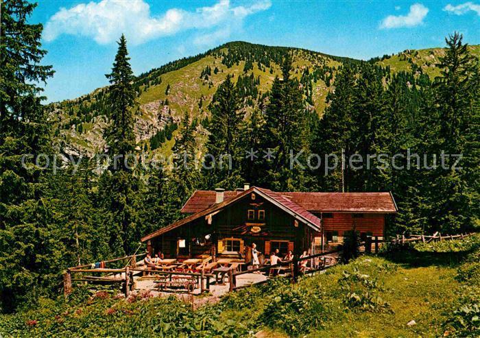 AK / Ansichtskarte Halblech Kenzenhuette Ammergauer Alpen Kat. Halblech