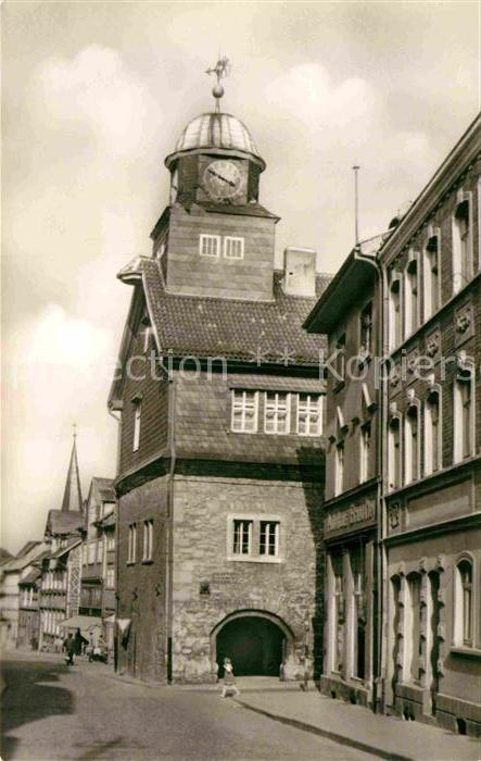AK / Ansichtskarte Bleicherode Rathaus Kat. Bleicherode
