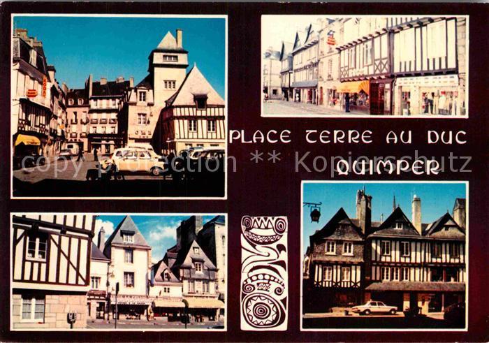 AK / Ansichtskarte Quimper La Place Terreau Duc Kat. Quimper