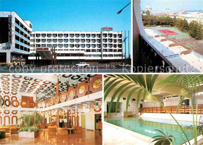 AK / Ansichtskarte Eger Erlau Hotel Eger Tennisplatz Lobby Hallenbad  Kat. Eger