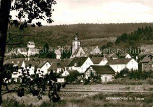 AK / Ansichtskarte Neunkirchen Siegerland Kirche Panorama Kat. Neunkirchen