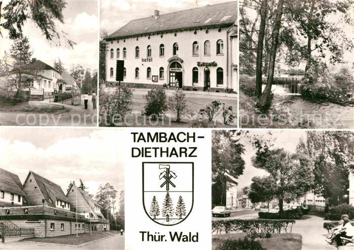 AK / Ansichtskarte Tambach Dietharz Sportheim Gaststaette Hotel Zum Lamm Schmalwasser  Kat. Tambach Dietharz
