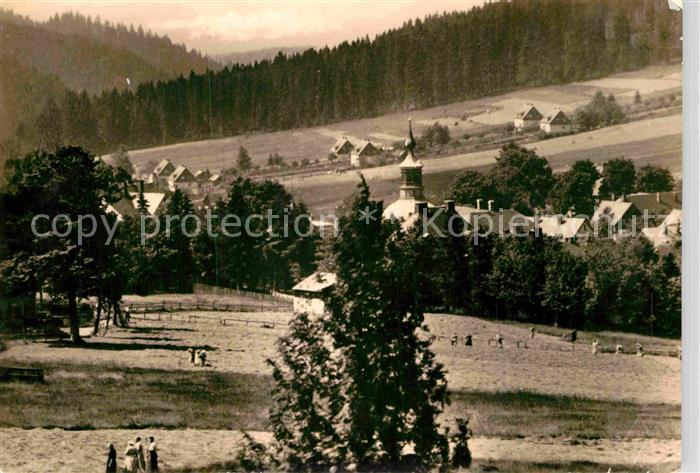 AK / Ansichtskarte Carlsfeld Erzgebirge Panorama Kat. Eibenstock