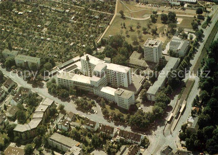 AK / Ansichtskarte Frankfurt Main St Markus Krankenhaus Fliegeraufnahme Kat. Frankfurt am Main